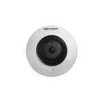 Mini domo IP fisheye 4MP para interior PoE 802.3af