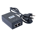 Adaptador de Power over Ethernet (PoE) para equipos UBIQUITI AIRMAX de 24 Vcc.