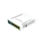 (hEX PoE) Routerboard 5 puertos Gigabit Ethernet PoE 802.3at, 1 Puerto USB