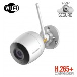 Mini Bala IP 2 Megapixel / 30 mts IR / Exterior IP66 / dWDR / Lente 2.8 mm / Microfono Interconstruido