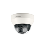Domo IP 1.3 Megapixel HD Infrarrojo Dia/Noche Video Analisis Lente Varifocal 2.8-12mm DWDR WiseNet LITE