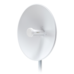 PowerBeam 802.11ac hasta 450 Mbps, antena integrada de 22 dBi